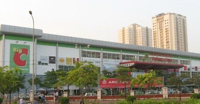 các trung tâm thương mại ở Hà Nội