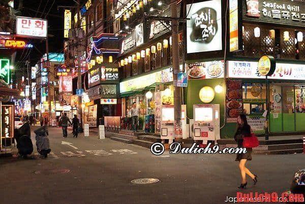 Cập nhật kinh nghiệm du lịch Seoul thưởng thức món ăn ngon và rẻ