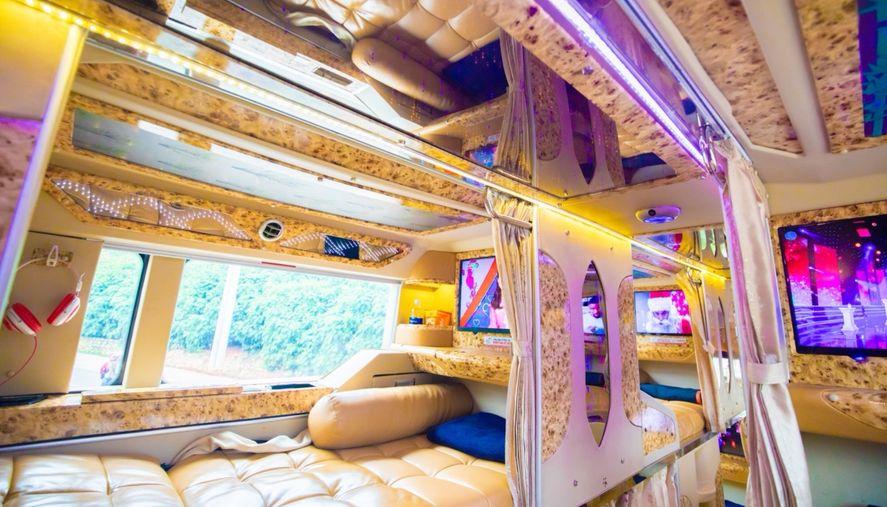 Xe giường nằm limousine Nguyễn Kim đi Đà Lạt
