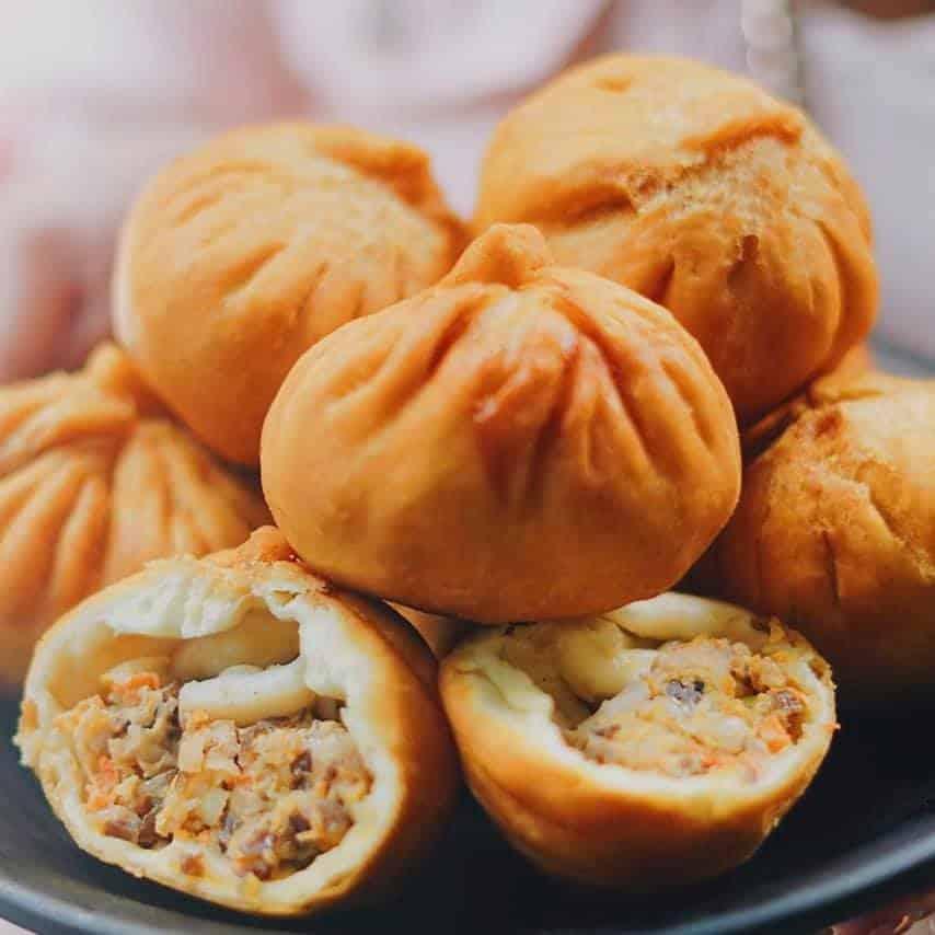 ăn gì ở sài gòn - bánh bao chiên