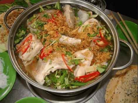 Món lẩu cá đuối đặc sản Vũng Tàu