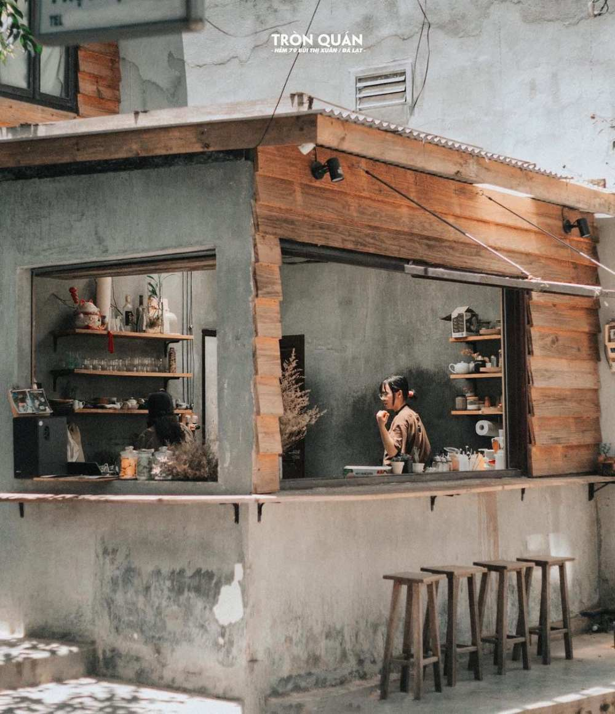 Tròn Quán - Quán cà phê phong cách Hàn Quốc ở Đà Lạt 1