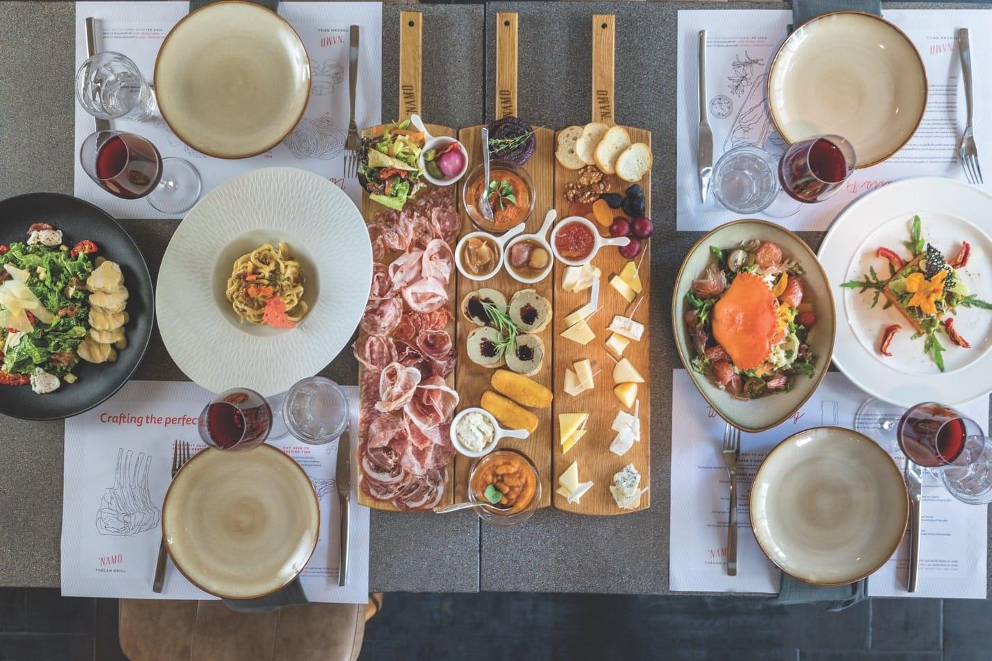NAMO Tuscan Grill – Các Nhà Hàng Tây Ở Sài Gòn