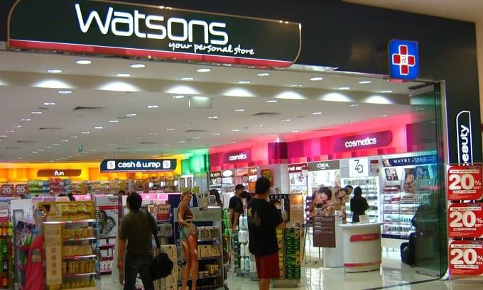 Một cửa hàng mỹ phẩm giá tốt ở Thái Lan, kinh nghiệm mua sắm ở Thái Lan