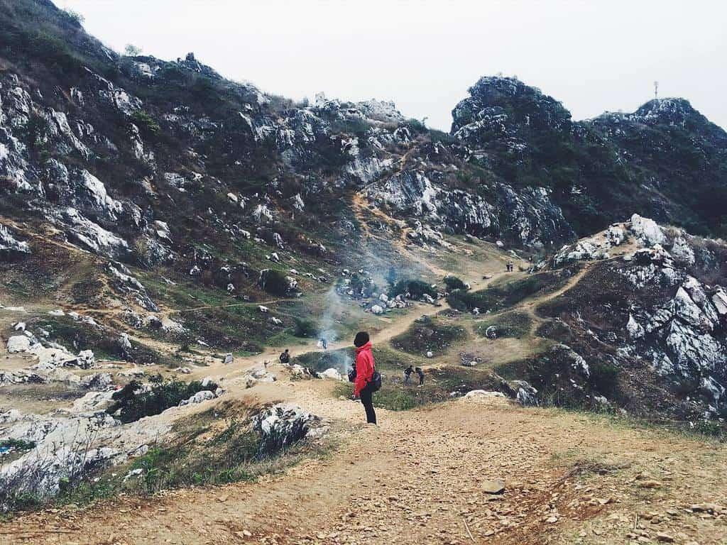 cắm trại gần hà nội-núi trầm