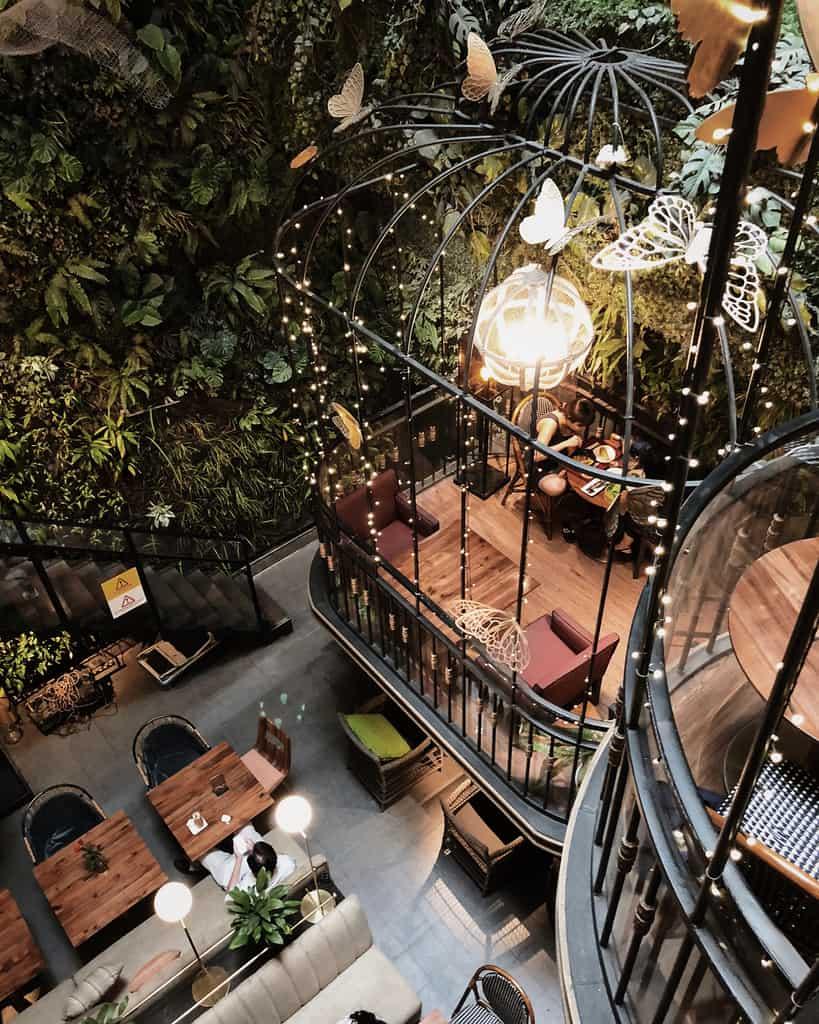 Hòa mình vào thiên nhiên với 8 quán cafe sân vườn đẹp ở Sài Gòn