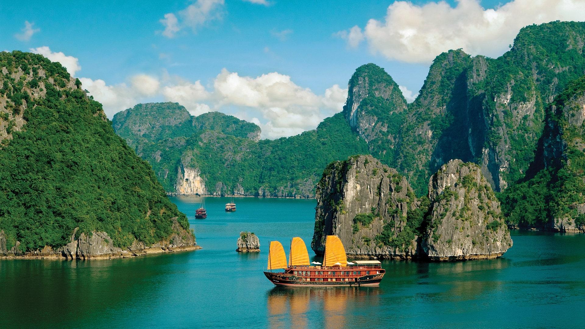 30 hình ảnh Vịnh Hạ Long Quảng Ninh đẹp làm hình nền máy tính