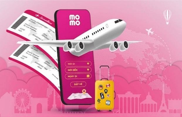 Nhiều lợi ích khi mua vé máy bay trên MoMo
