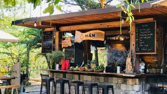 Không gian kỳ diệu tựa khu sinh thái tại Mầm Coffee Tea Beer